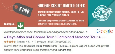 best Google result with stars rating reviews prices Gomarnad